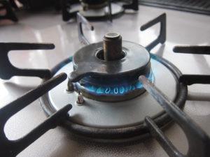 ガスコンロバーナーの写真