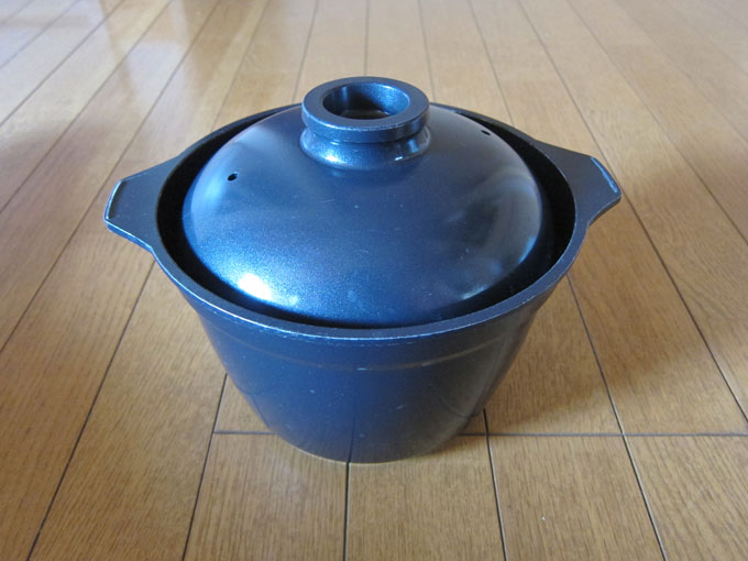 ガス炊飯鍋の写真
